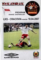 Program ŁKS Łódź - KS Cracovia Orange Ekstraklasa (18.04.2007)