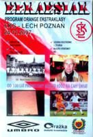 Program ŁKS Łódź - Lech Poznań (24.11.2007) - Orange Ekstraklasa
