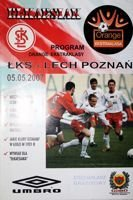 Program ŁKS Łódź - Lech Poznań Orange Ekstraklasa (05.05.2007)