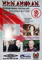 Program ŁKS Łódź - Polonia Bytom Orange Ekstraklasa (04.08.2007)