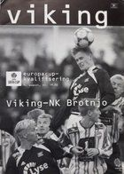 Program Viking Stavanger – Brotnjo Citluk Puchar UEFA (09.08.2001)