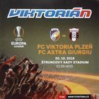 Program Viktoria Pilzno - Astra Giurgiu Europa League (20.10.2016)