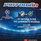 Program Viktoria Pilzno - Łudogorec Razgrad Champions League (23.08.2016)