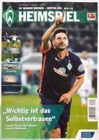 Program Werder Brema - Hertha Berlin Bundesliga (30.01.2016)
