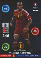 Vincent Kompany - Belgia (nr 316 - Defensive Rock)