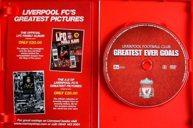 3c1848679 ... Film DVD Liverpool FC. Najlepsze gole wszech czasów (oficjalny  produkt). Producent: Szalik