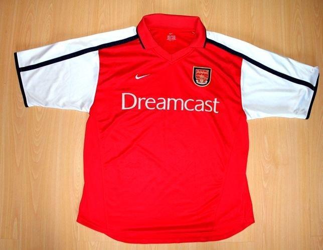 a7119ec37 Koszulka Arsenal Londyn 2000-2002 (produkt oryginalny)   Koszulki ...