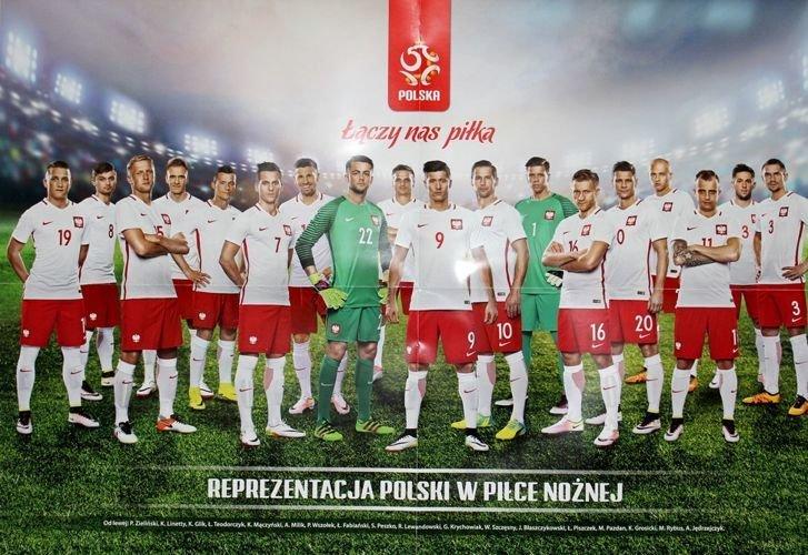 Plakaty Reprezentacja Polski 2017 I Robert Lewandowski