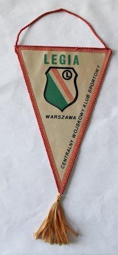 0e779c423 Proporczyk CWKS Legia Warszawa   Proporczyki \ Polskie   Antykwariat ...