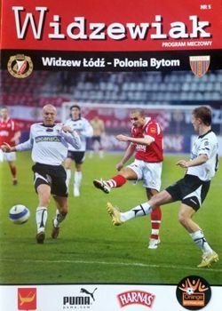 Program Widzew Łódź - Polonia Bytom Orange Ekstraklasa (18.04.2008)